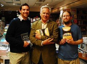 Me, Ron Carlson, & Scott Ehrig-Burgess